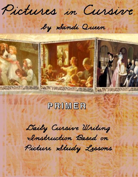 Pictures in Cursive (7 item set)