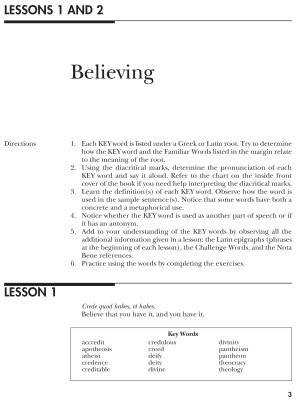 Vocabulary from Classical Roots D, Student Book