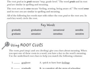 Vocabulary From Classical Roots 4, Student Book
